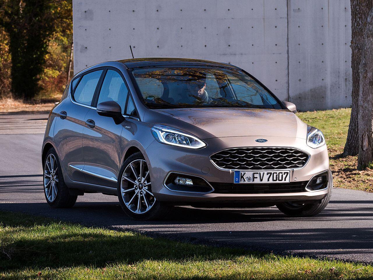 Bild zu Platz 4: Ford Fiesta