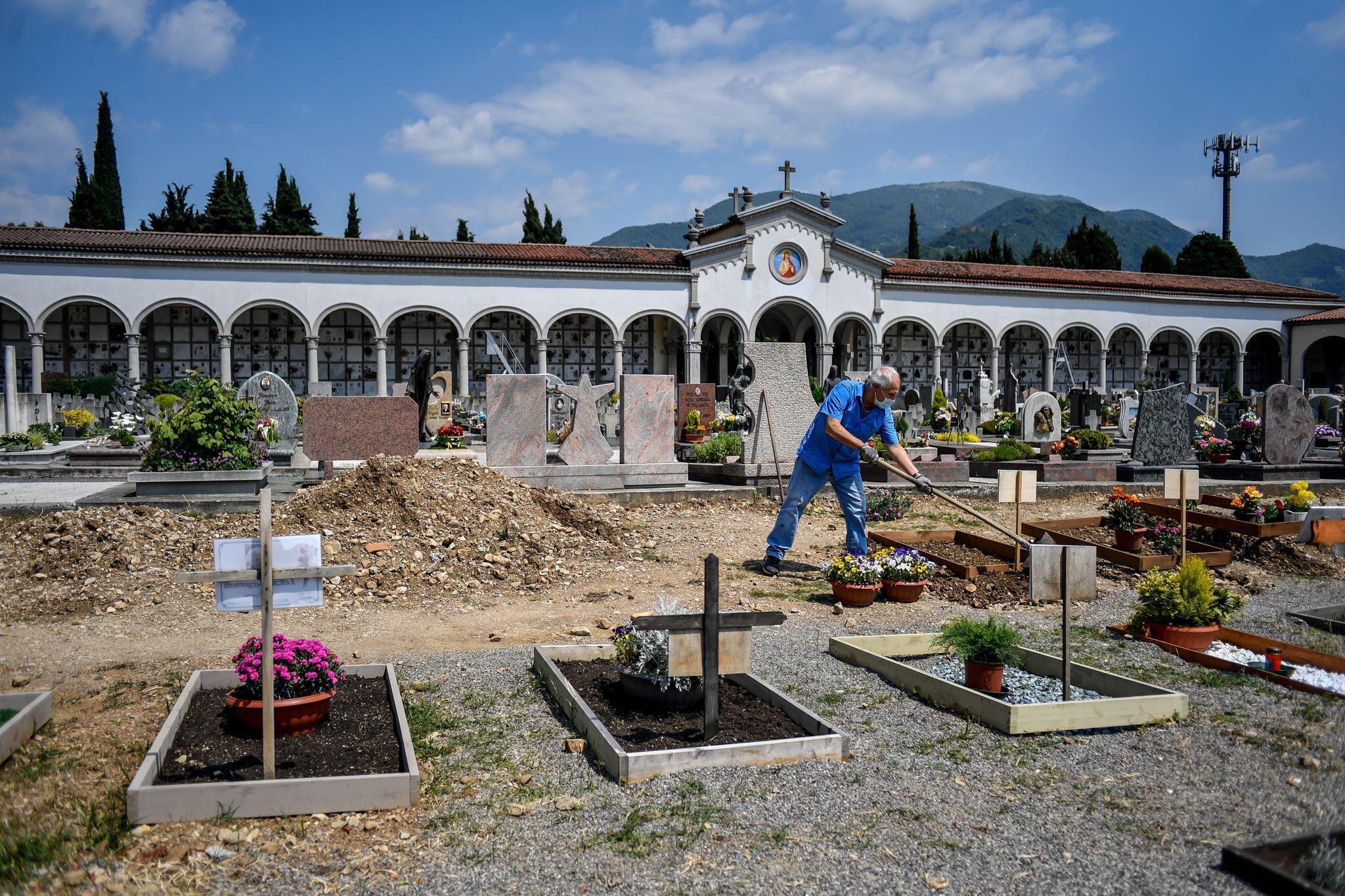 Bild zu Coronavirus - Italien - Bergamo