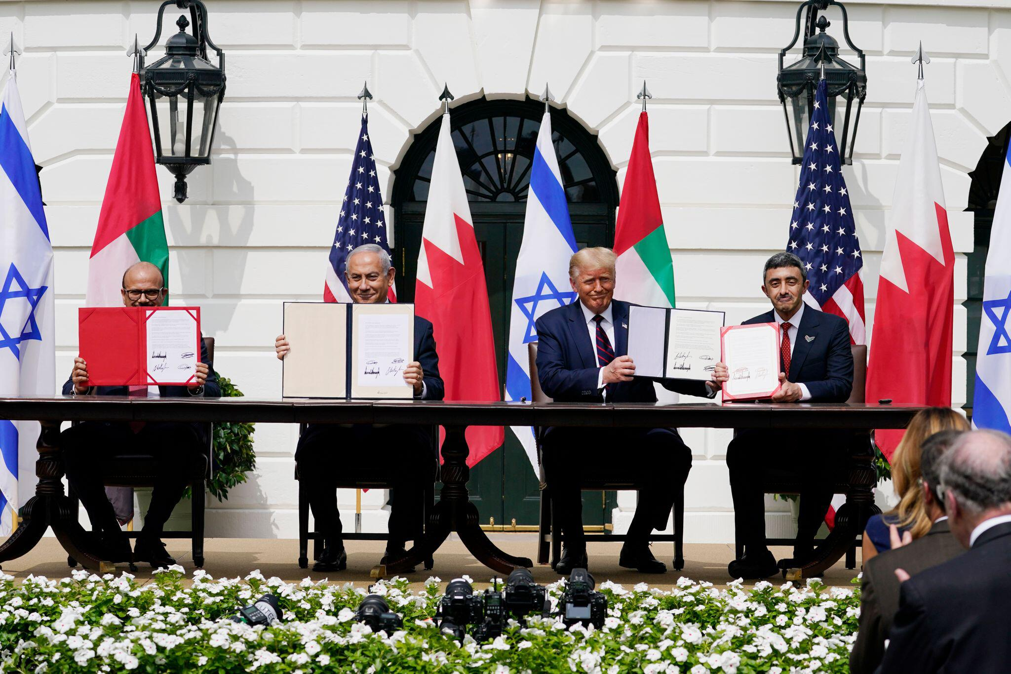 Bild zu Abkommen Israels, Bahrains und der VAE