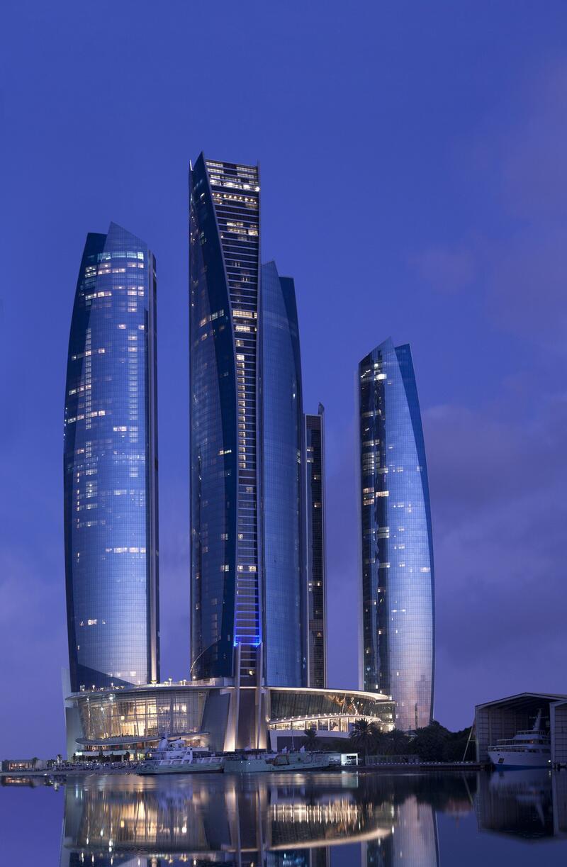 Bild zu 305 Meter: Der Etihad Tower 2