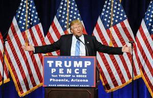 Donald Trump, US-Wahl, Swing States, Hillary Clinton