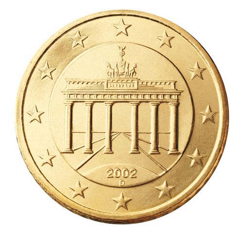 Bild zu 50-Cent-Münze aus Deutschland