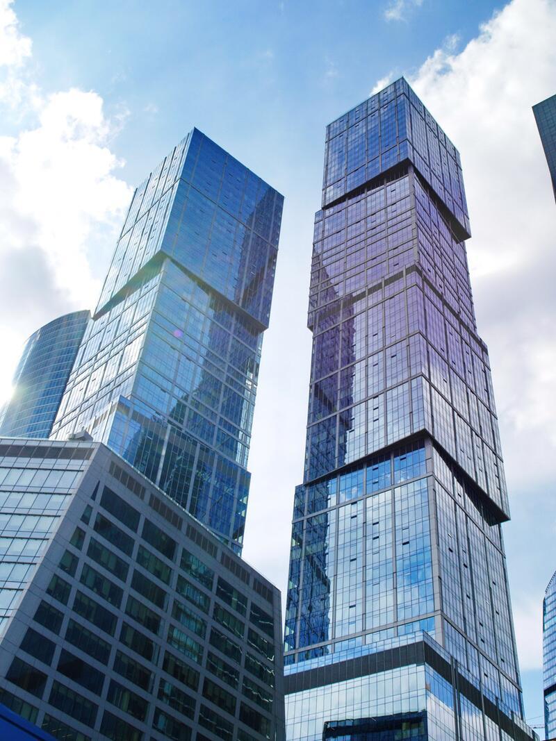 Bild zu 302 Meter: Capital City Moscow Tower
