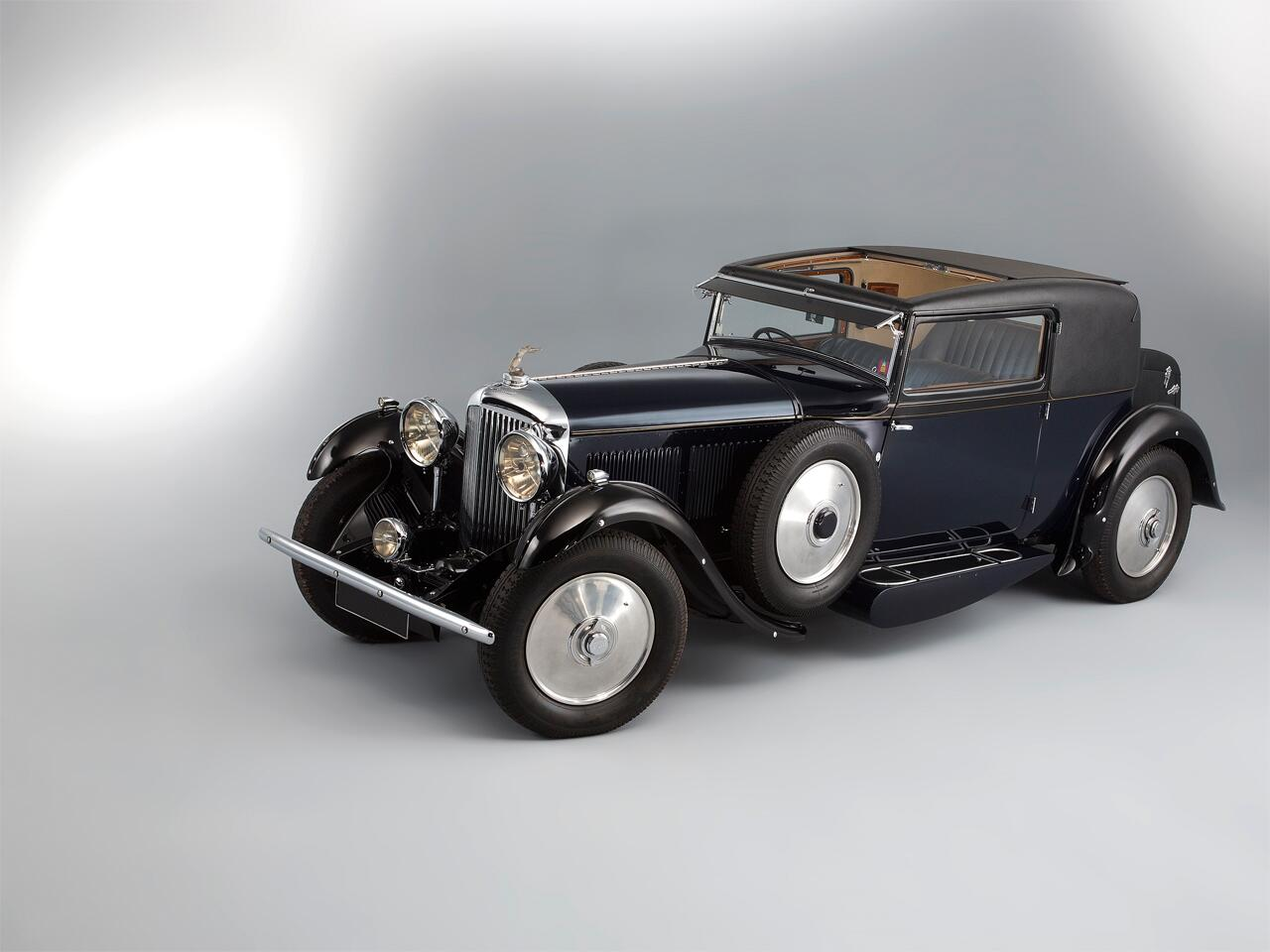 Bild zu 1931 Bentley 8L Sportsman Coupé