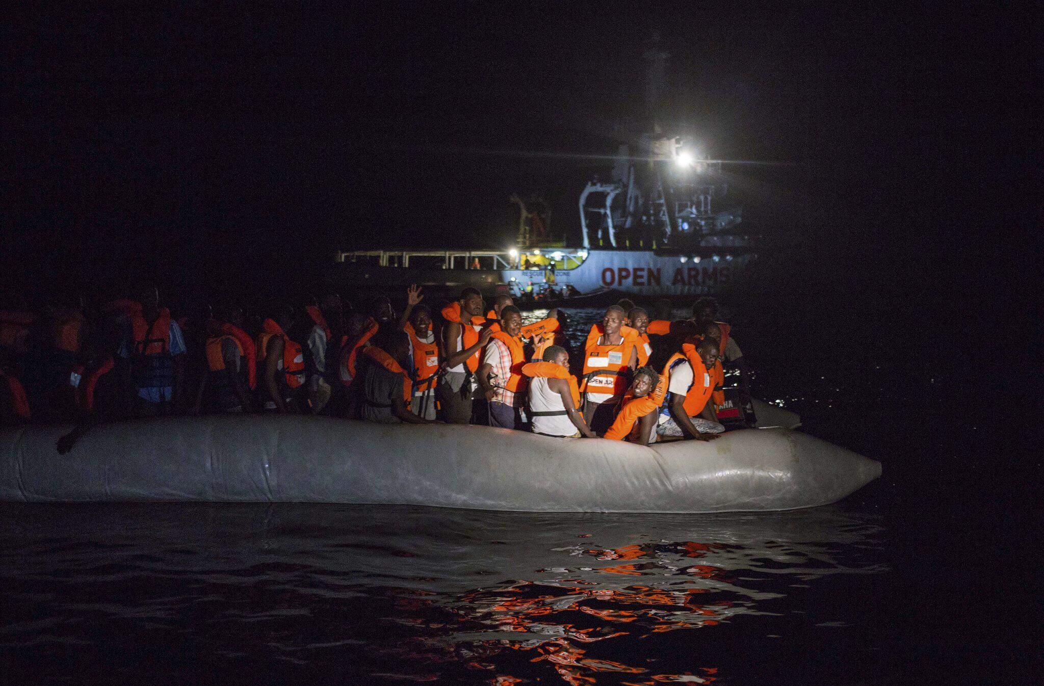 Bild zu Rettungsaktion im Mittelmeer