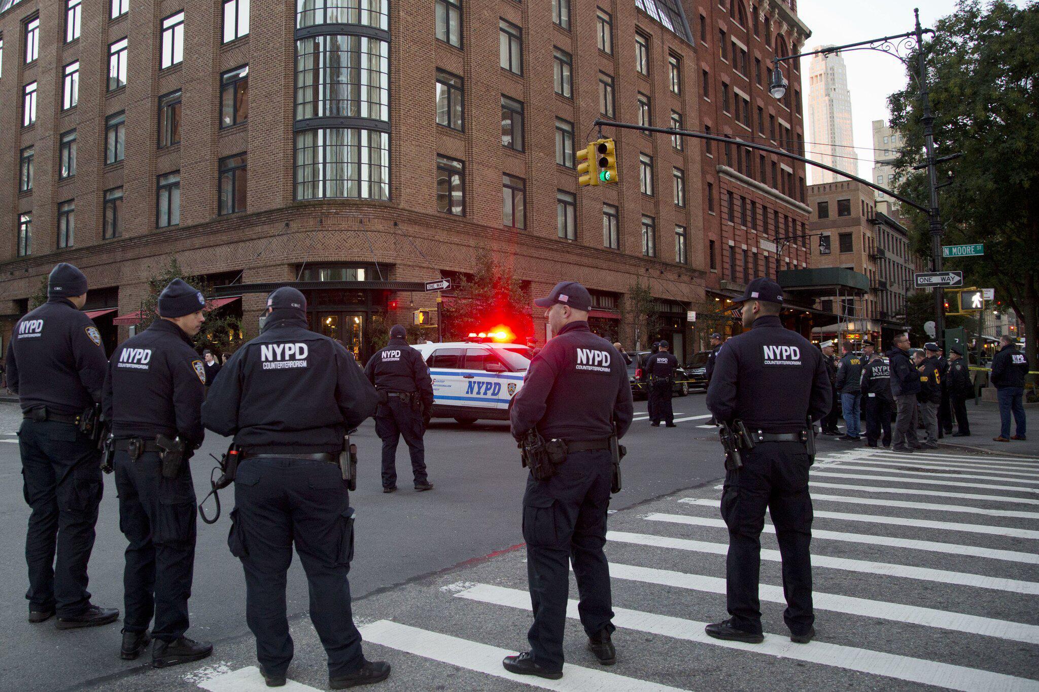 Bild zu Verdächtiges Paket in New York