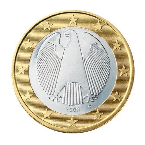 Bild zu 1-Euro-Münze aus Deutschland
