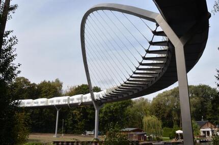 Buga-Brücke in Rathenow