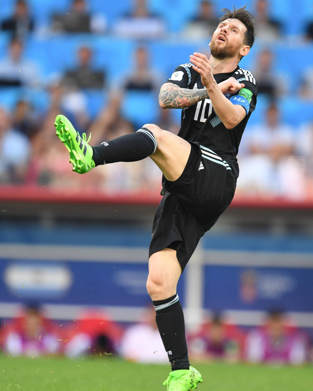 Bild zu Lionel Messi, Island, Argentinien, WM 2018