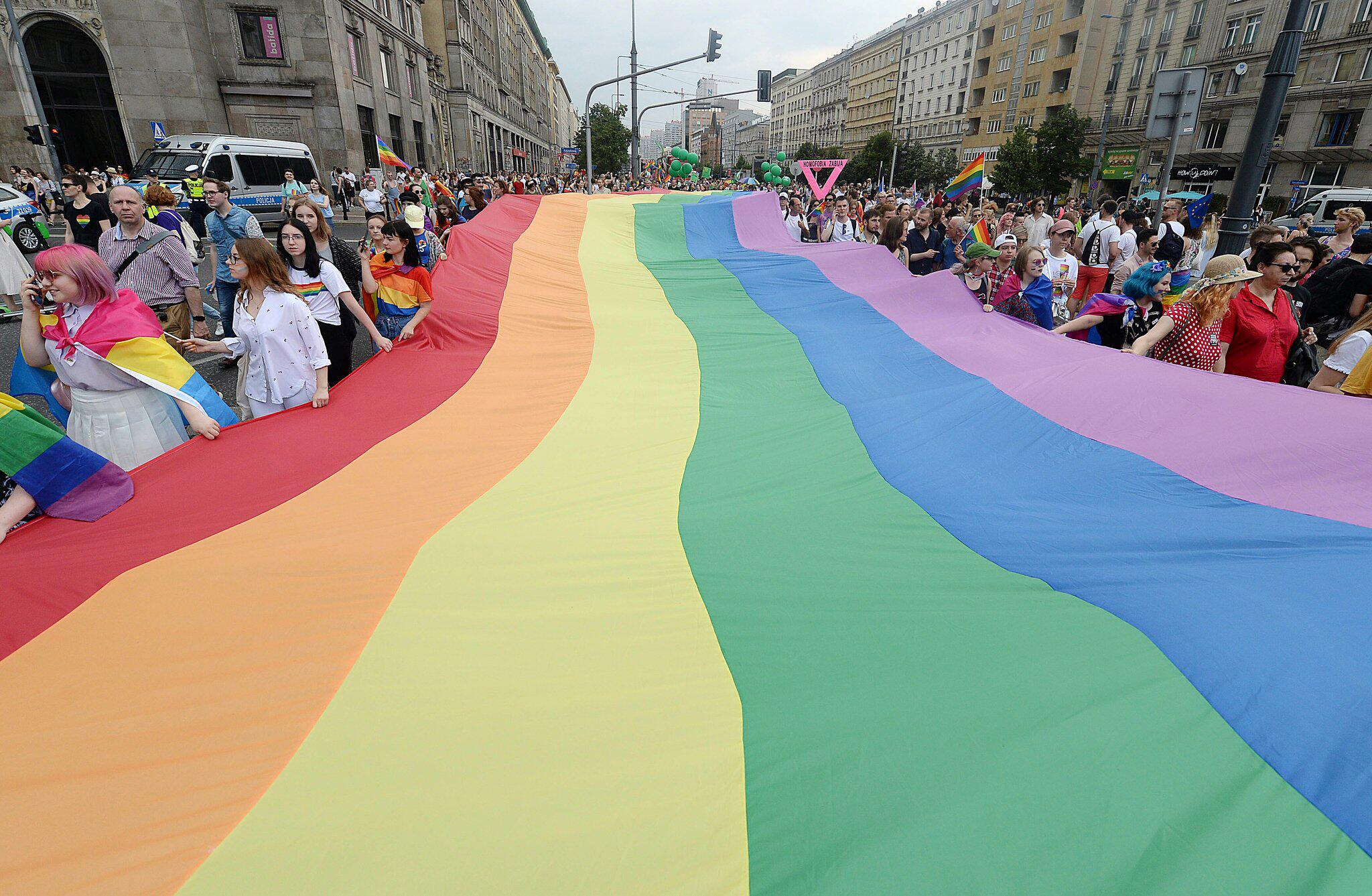 Bild zu Pride-Parade in Warschau