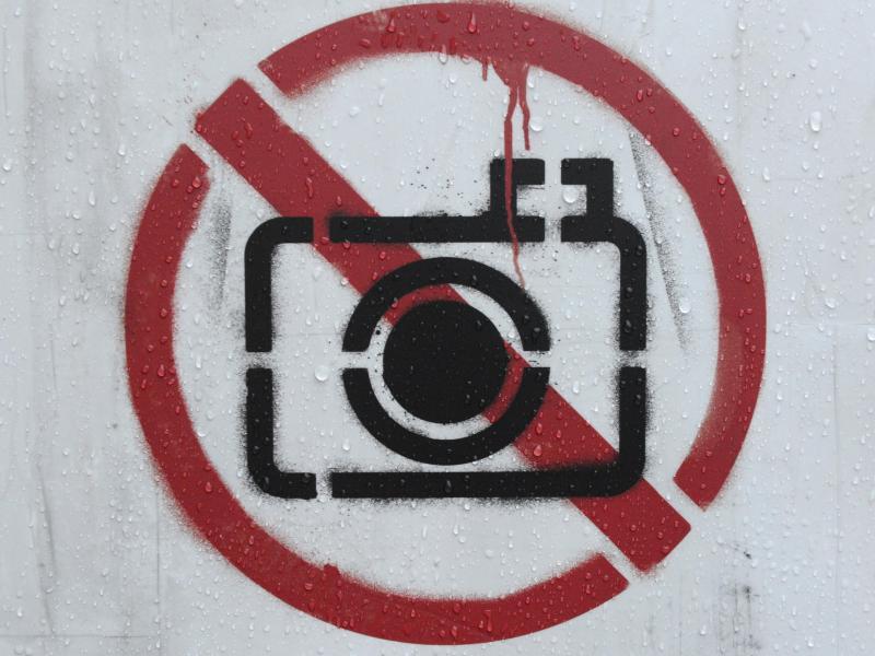 Bild zu Fotografieren verboten