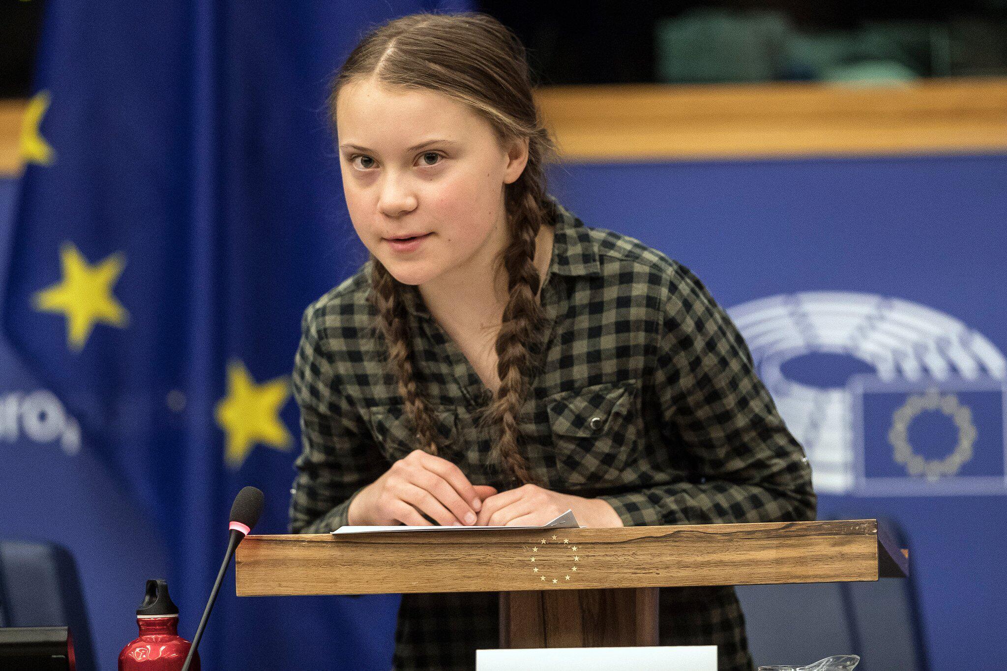 Bild zu Europäisches Parlament - Thunberg