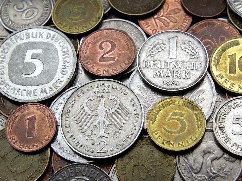 Bild zu D-Mark-Münzen