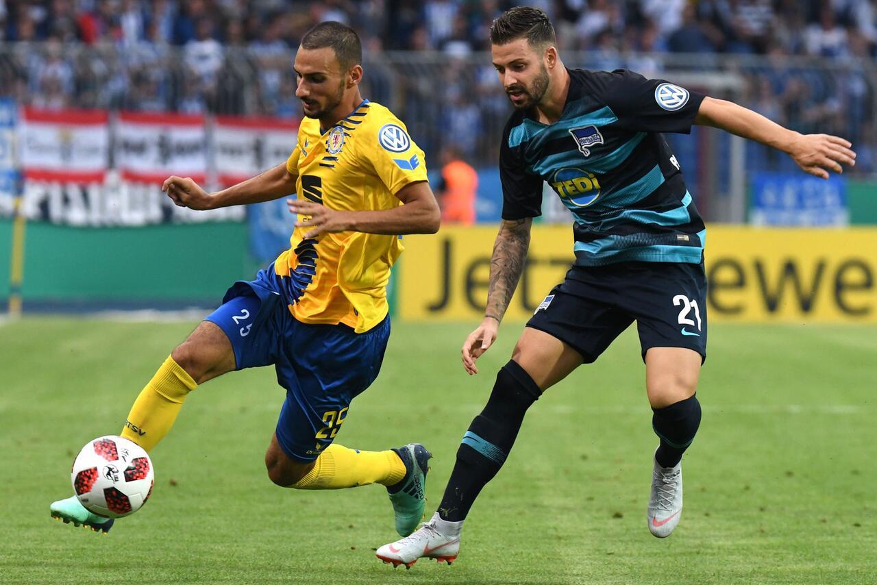 Bild zu Eintracht Braunschweig - Hertha BSC