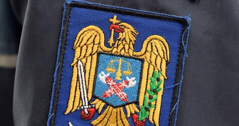 Polizei in Rumänien