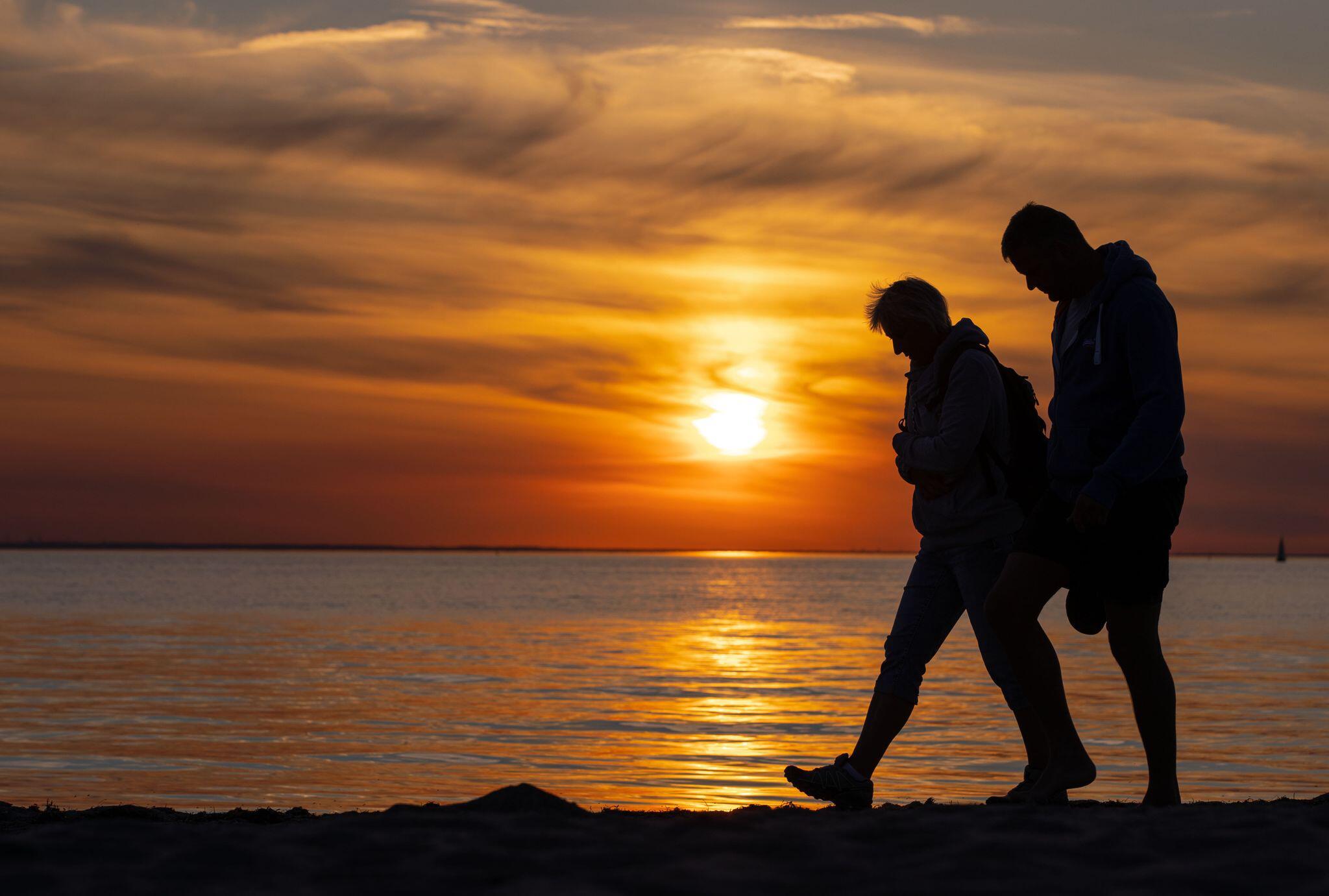 Bild zu Abendstimmung an der Ostsee