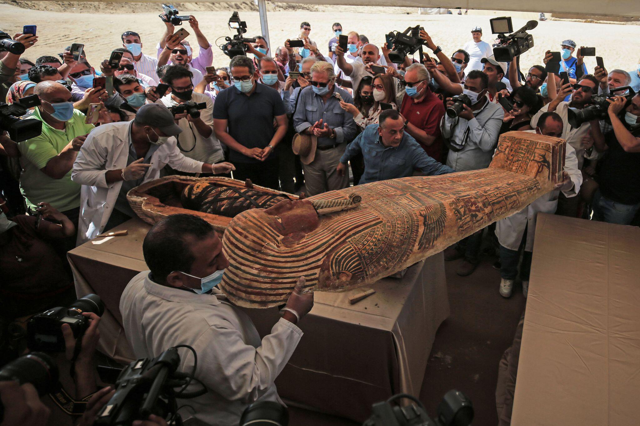 Bild zu Archäologische Entdeckung in Ägypten