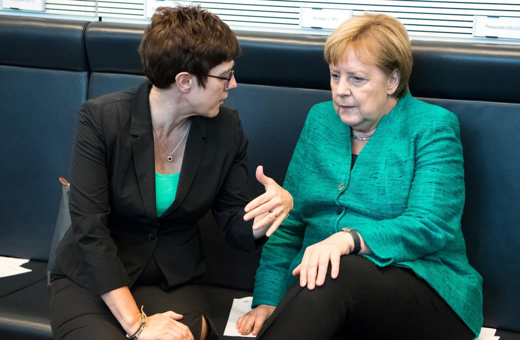 Bild zu Faction meetings of the Bundestag parties