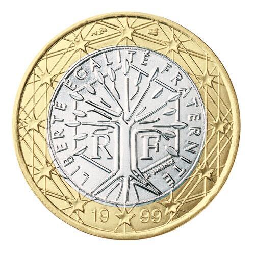 Bild zu 1-Euro-Münze aus Frankreich