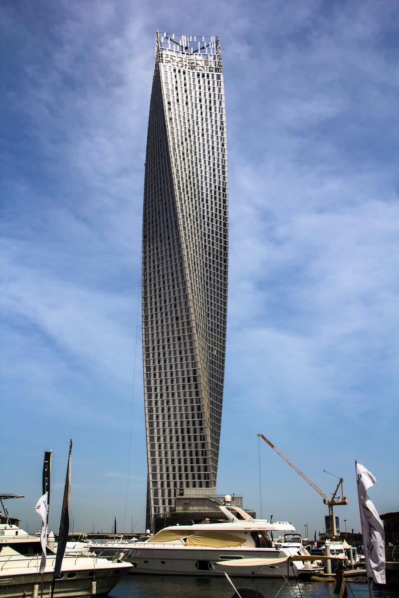 Bild zu 307 Meter: Cayan Tower