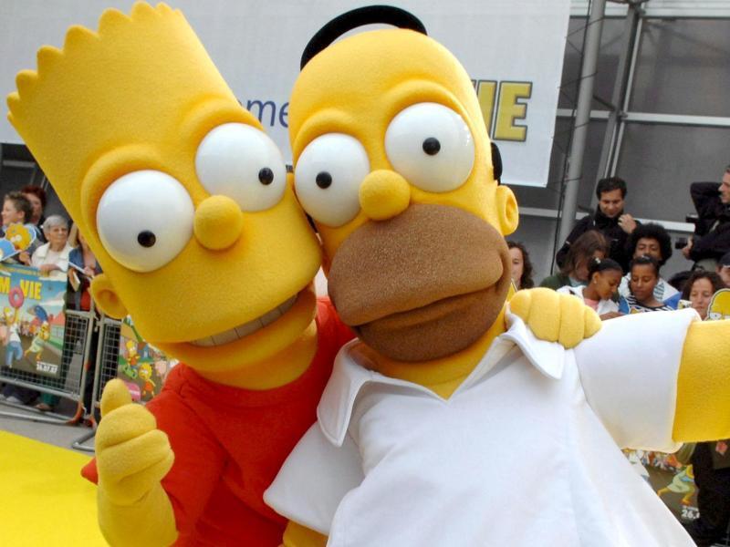 Bild zu Homer und Bart Simpson