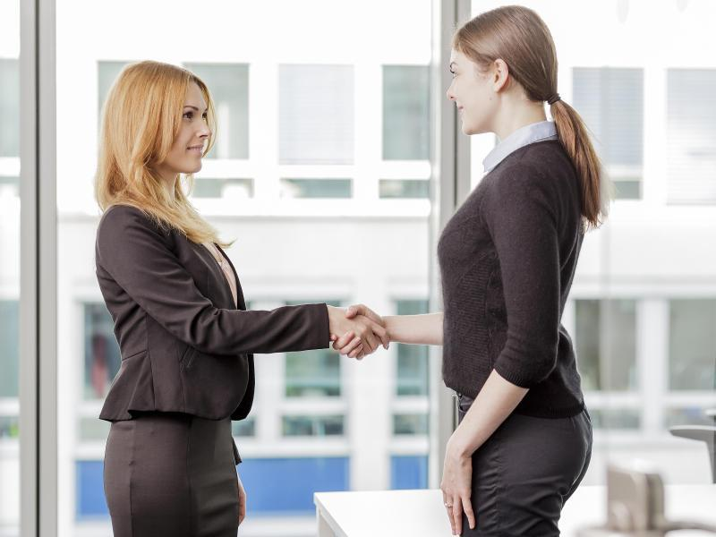 Bild zu Begrüßung einer neuen Kollegin
