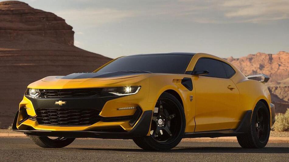 Chevrolet Camaro Bumblebee 2016