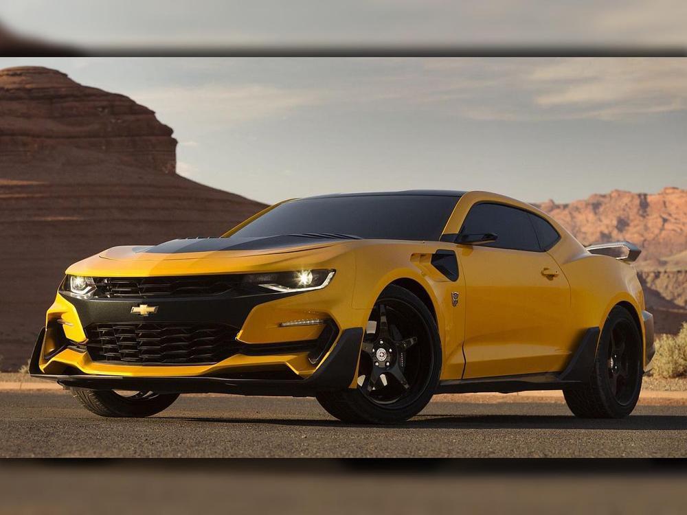 Bild zu Chevrolet Camaro Bumblebee 2016