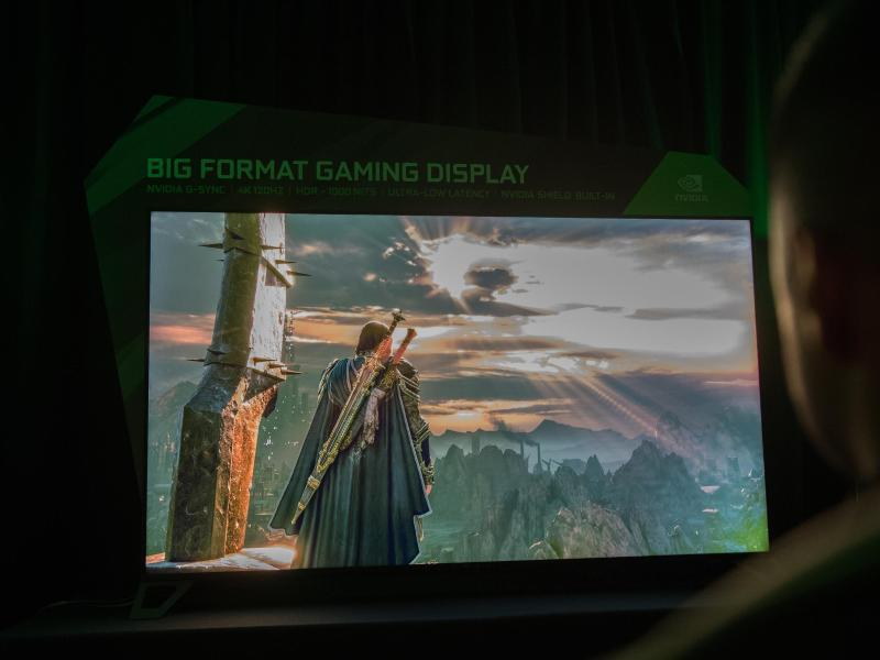 Bild zu Big Format Gaming Display von Nvidia