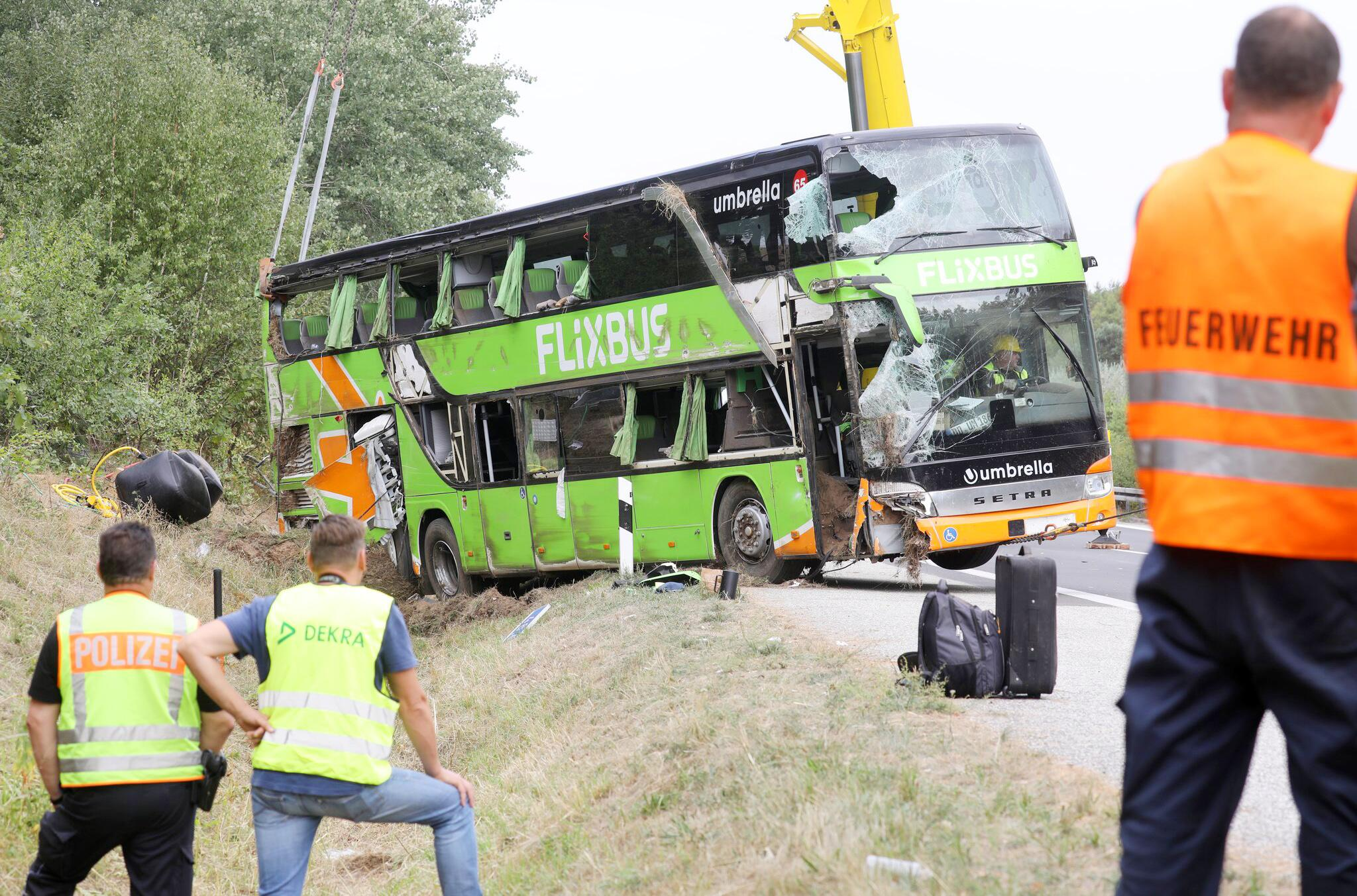 Bild zu Flixbus Unfall