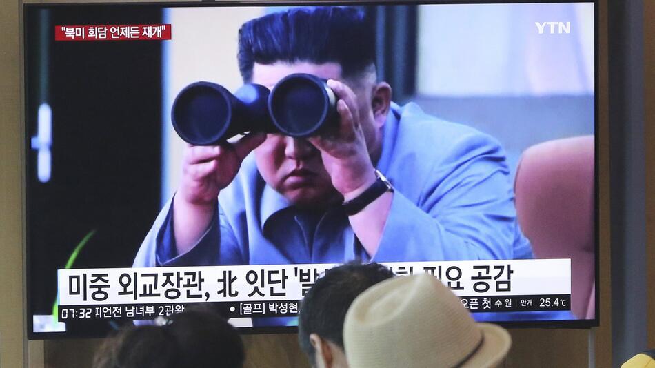 Nordkorea feuert erneut zwei Kurzstreckenraketen ab