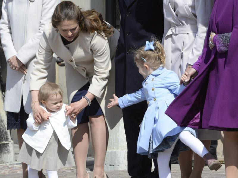 Bild zu Prinzessin Leonore und Prinzessin Estelle von Schweden