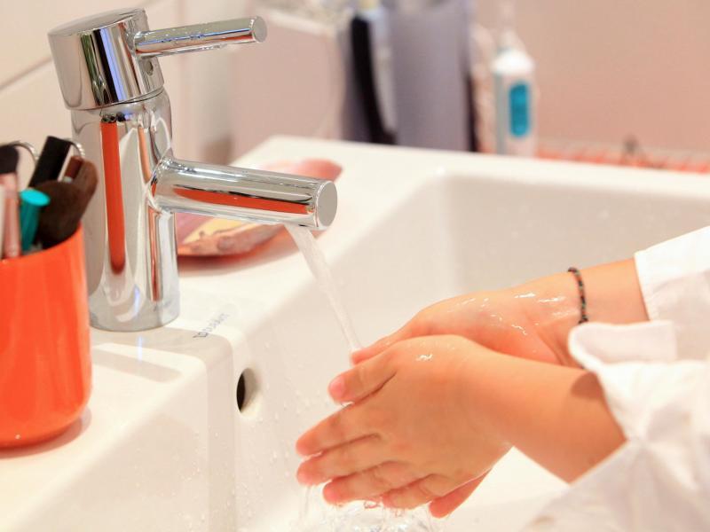 Bild zu Händewaschen