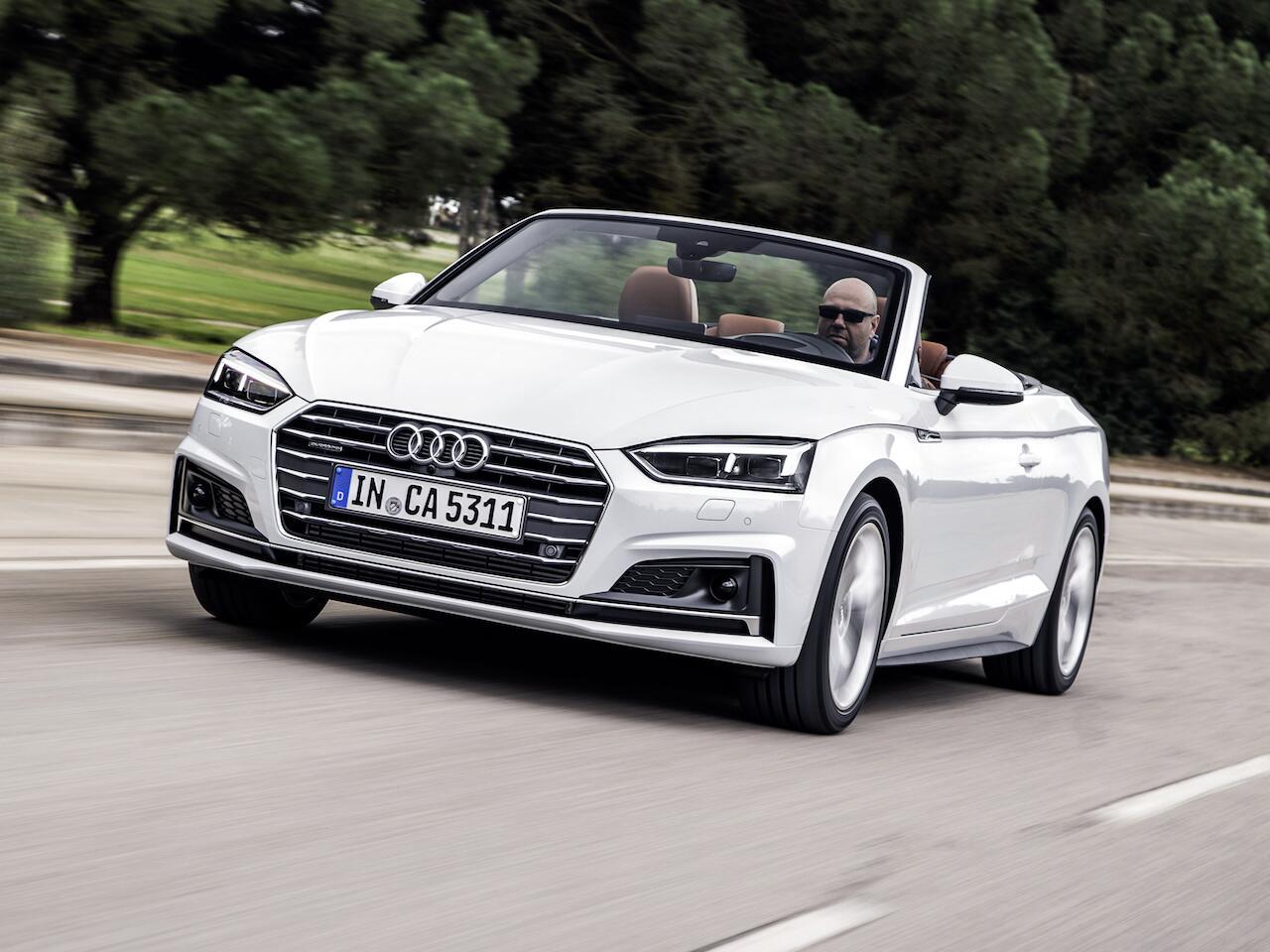 Bild zu Audi A5 Cabriolet