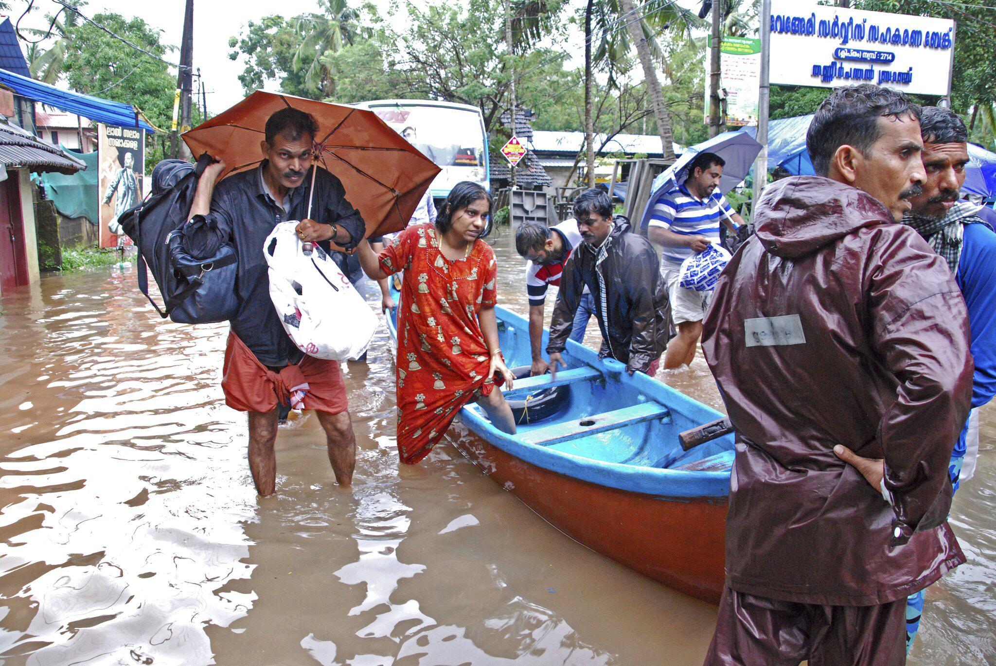 Bild zu Monsun - Überschwemmungen in Indien