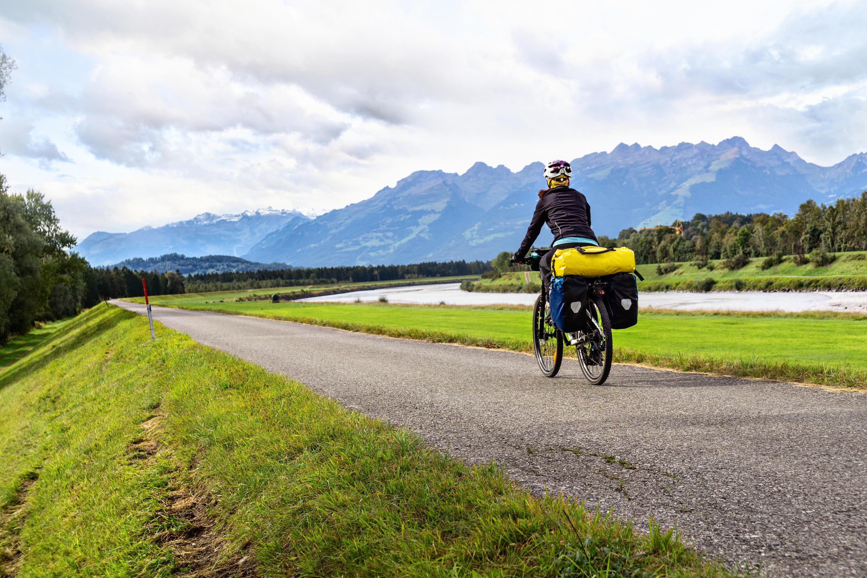 Bild zu Fahrrad, Urlaub, Satteltasche, Gepäck, Anhänger