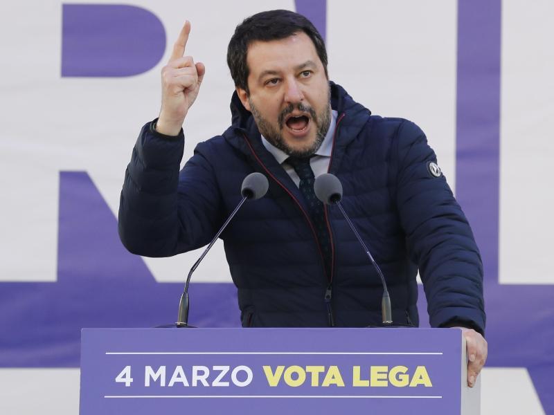 Bild zu Matteo Salvini