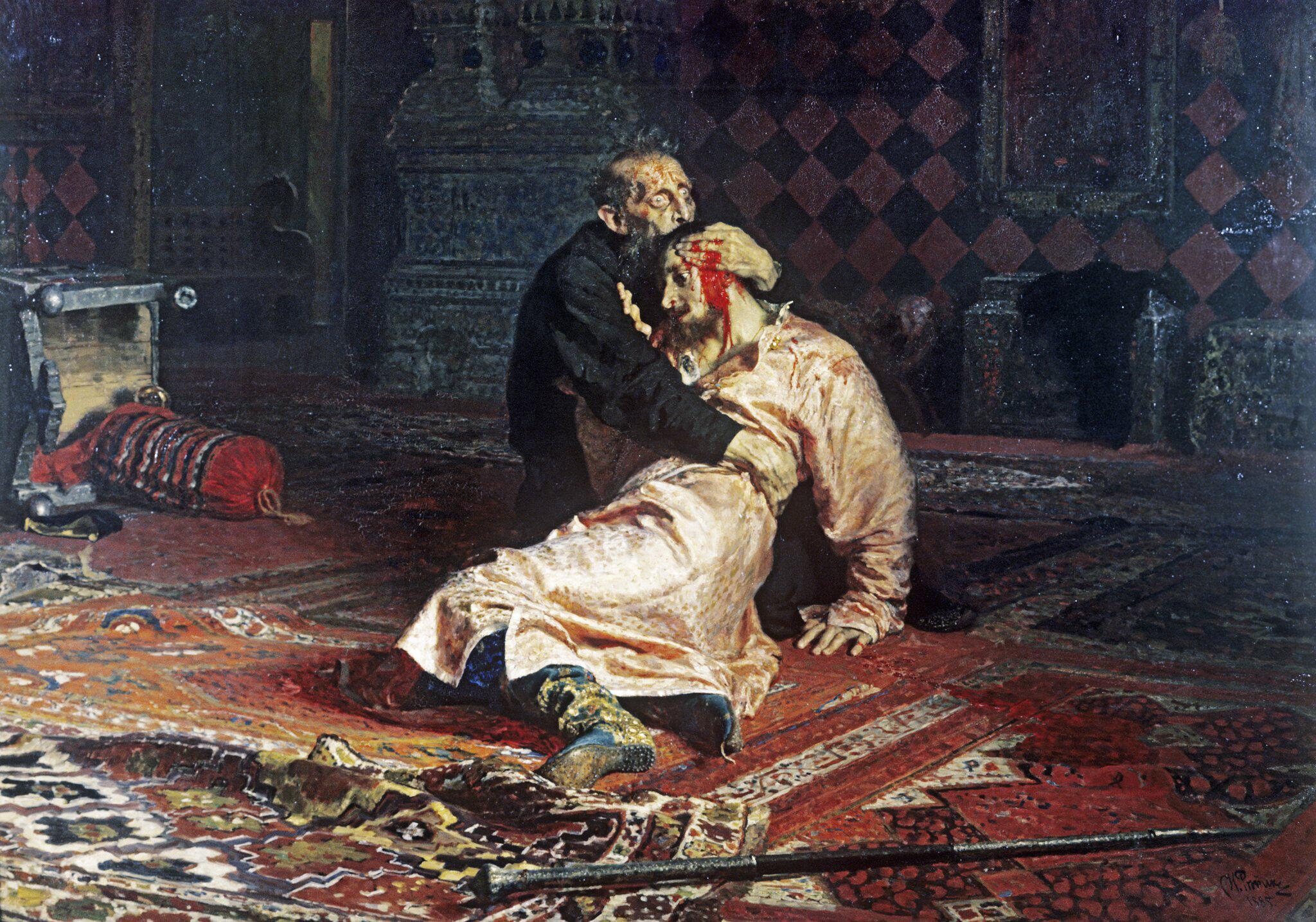 Bild zu Gemälde von Zar Iwan dem Schrecklichen von Ilja Repin