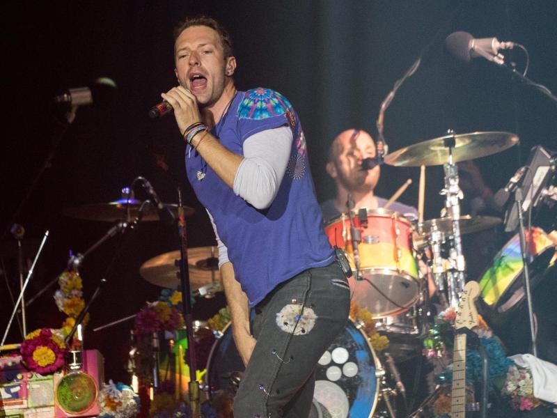 Bild zu Coldplay