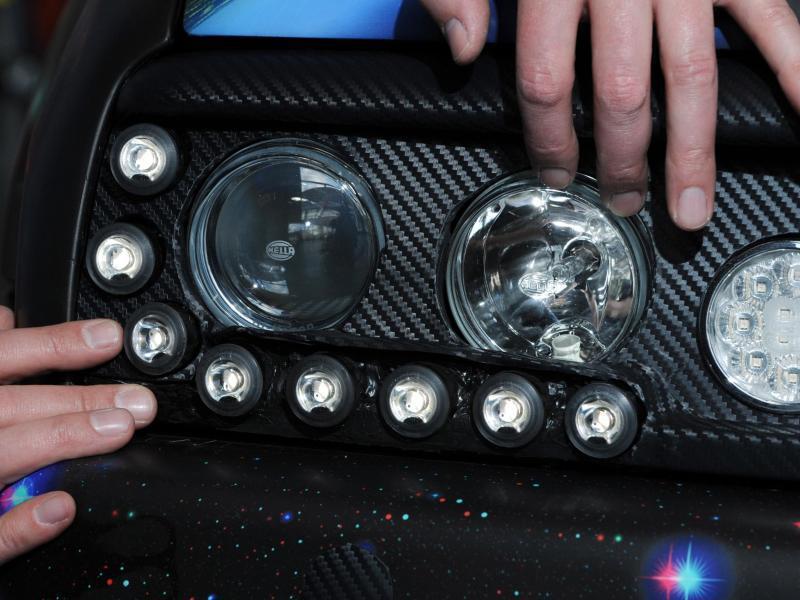 Bild zu LED-Scheinwerfer