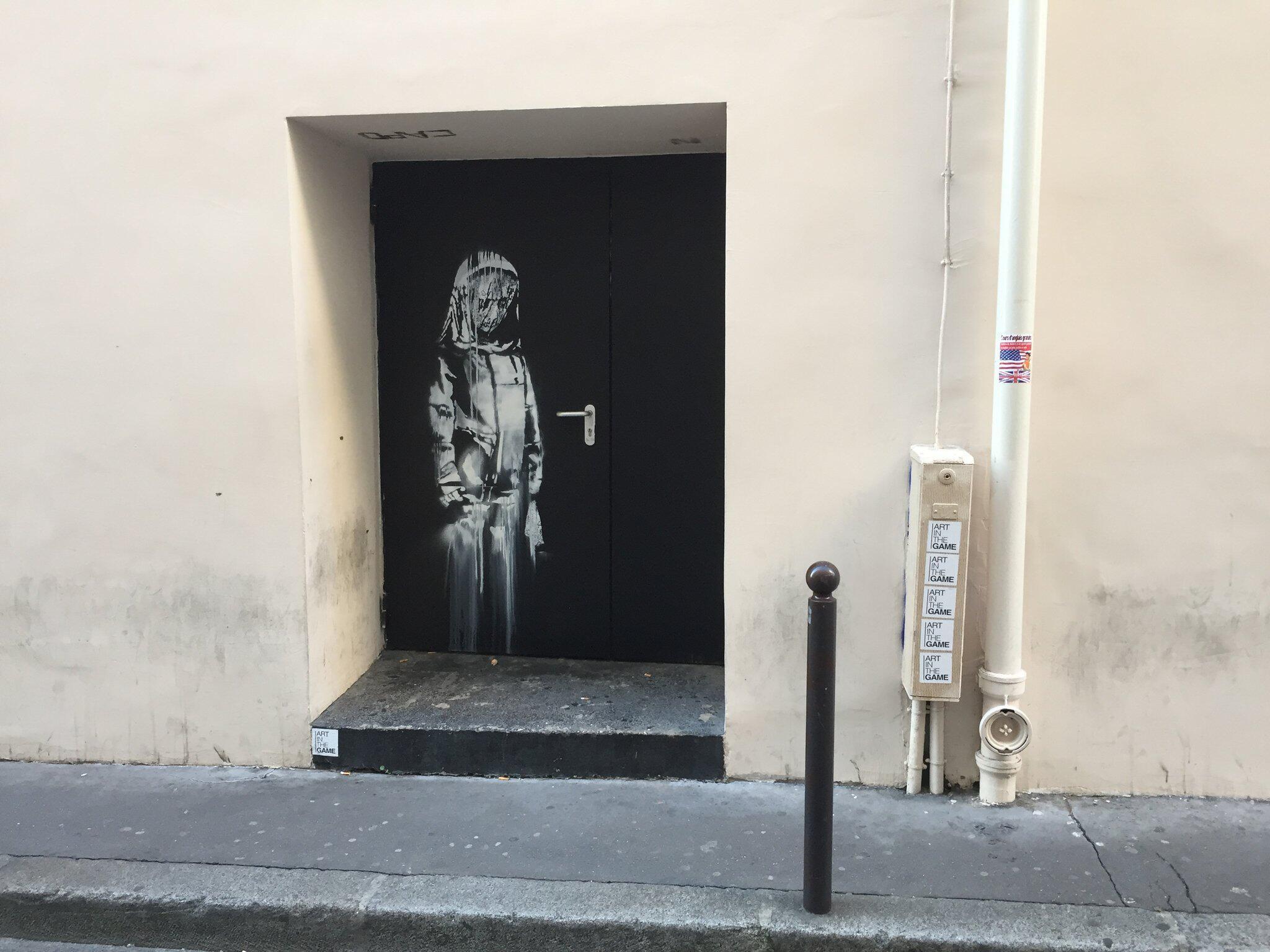 Bild zu Graffiti von Banksy in Paris