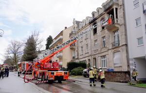 Mehrere Verletzte bei Wohnhausbrand in Baden-Baden