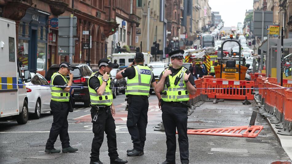 Zwischenfall in Glasgow