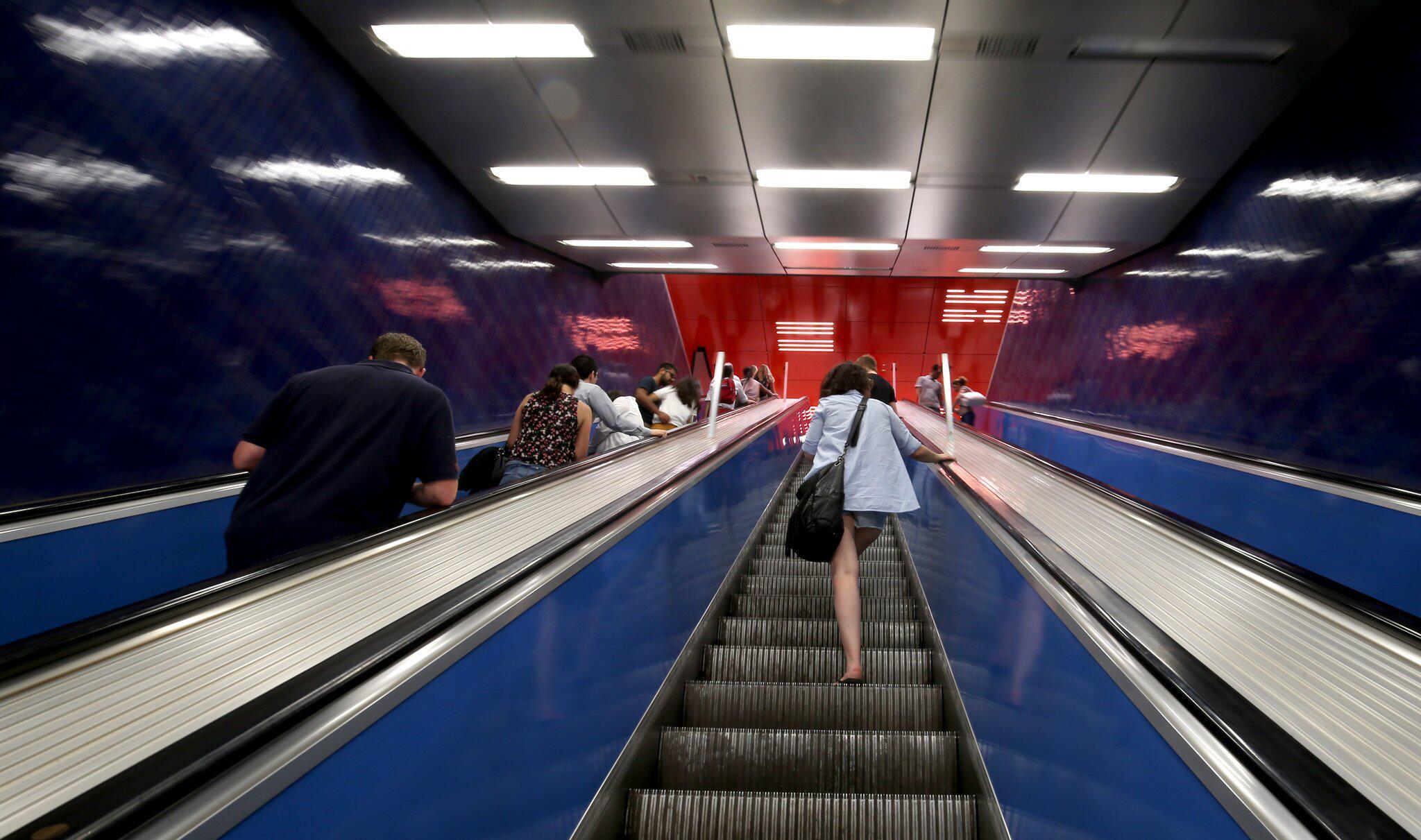 Bild zu Rolltreppe in München