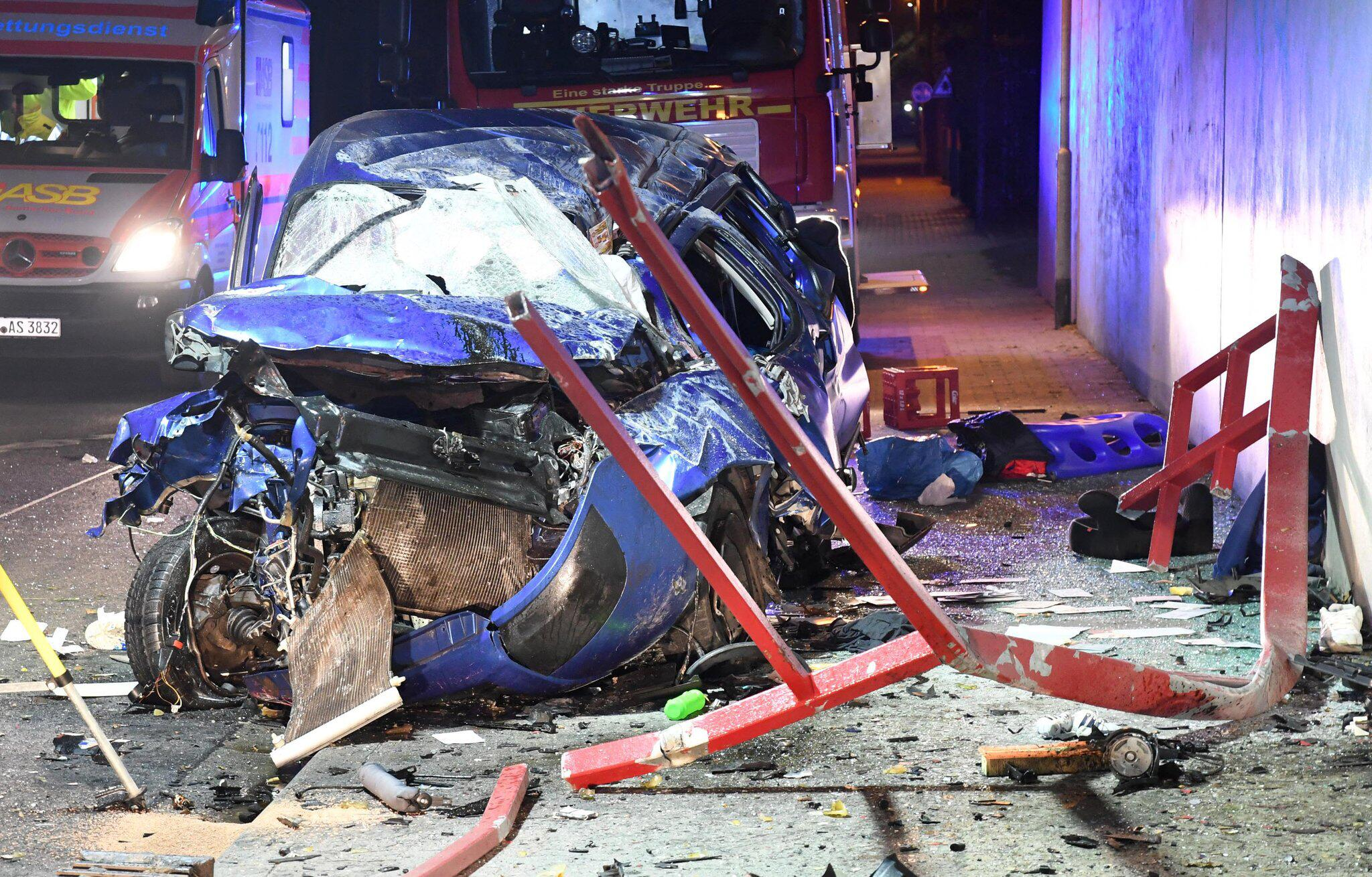 Bild zu Autounfall