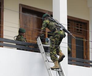 Explosionen in Sri Lanka