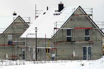 Bei Hausbau auf Temperatur achten