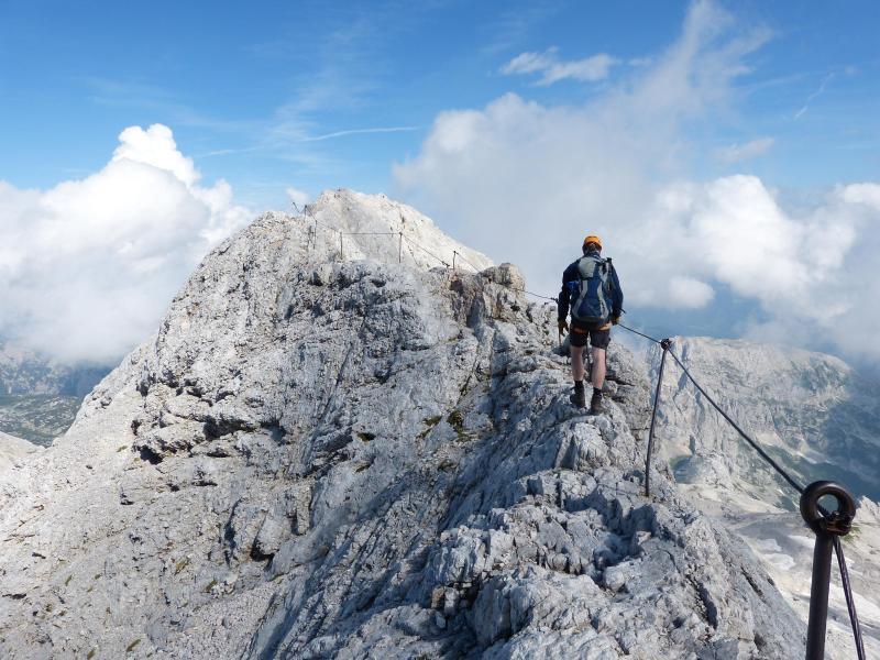 Bild zu Klettersteig auf dem Triglav