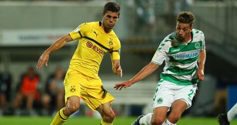 SpVgg Greuther Fuerth vs Borussia Dortmund