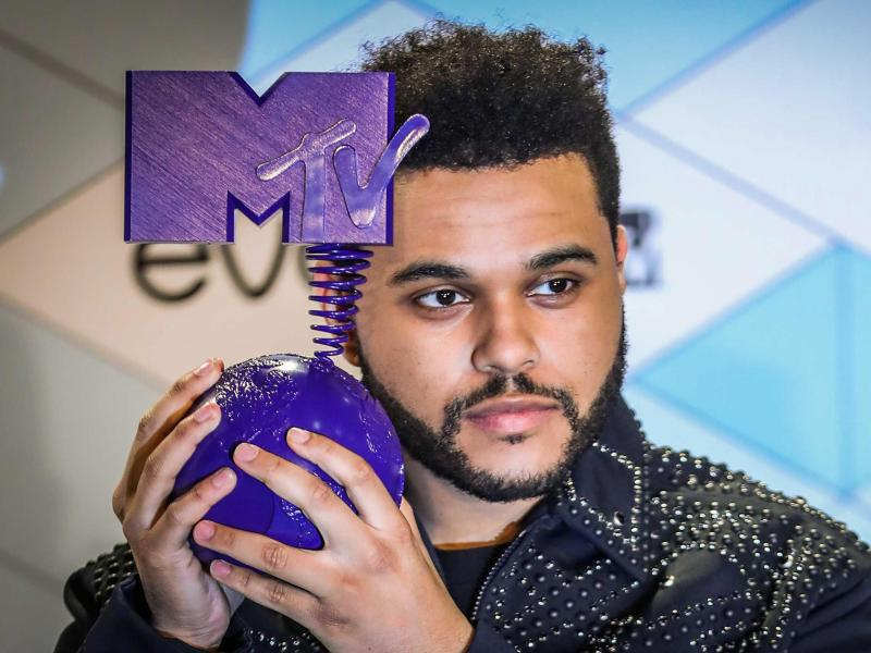 Bild zu MTV Europe Music Awards - The Weeknd